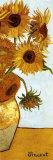 Zonnebloemen, ca. 1888 Poster van Vincent van Gogh
