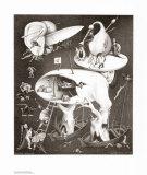 Enfer Posters par M. C. Escher
