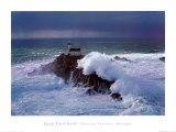 Faro de Tevennec, Bretaña Arte por Jean Guichard
