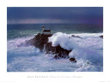 Phare de Tevennec, Bretagne Prints by Jean Guichard