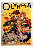 Olympia, The Shop Girl Operette Print