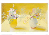Honeysuckle & Sweetpeas Prints by Winifred Nicholson