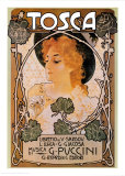 Puccini&#160;- Tosca Posters