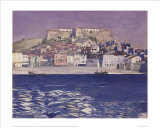 Collioure Poster by Charles Rennie Mackintosh