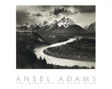Snake River Poster by Ansel Adams