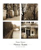 Parisien Moments Posters by Marina Drasnin Gilboa