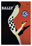 Bally Psters por Bernard Villemot