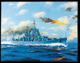 USS Boston CA69 Prints by James Flood
