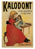 Kalodont, Creme Dentifrice a la Glycerine Prints