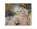 El&#233;anor 1907 Affiches par Frank Weston Benson