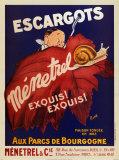 Escargots Menetial Affiches