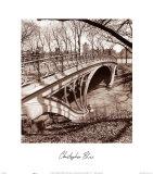 Central Park Bridge III Poster von Christopher Bliss