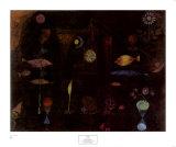 Magie des poissons Posters par Paul Klee