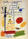 Zeichnung|Drawing Poster von Pablo Picasso