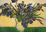Vase of Irises, c.1890 Posters by Vincent van Gogh