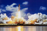 Space Shuttle Take Off Print by Roger Ressmeyer