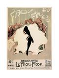 Le Frou-Frou Posters af (Lucien-Henri Weil) Weiluc