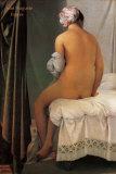 The Bather of Valpincon, 1808 Kunst af Jean-Auguste-Dominique Ingres