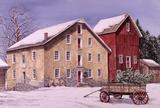 Wintertag Kunstdruck von Dan Campanelli