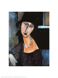 Jeanne Hebuterne Prints by Amedeo Modigliani