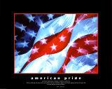 Orgullo americano Arte