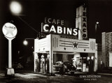 Gas Station, Circa 1945 Prints