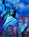 New York, Statue of Liberty Posters