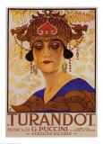 Puccini– Turandot Poster