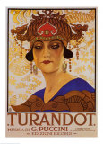 Puccini, Turandot Posters