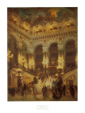 The Lobby of the Paris Opera Prints by Jean Béraud