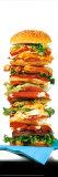 Hamburger géant Poster