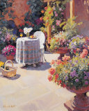 Garden Lunch and Basket Prints by Edward Noott