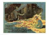 Puccini, Madama Butterfly Julisteet tekijänä Adolfo Hohenstein
