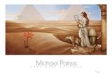 Desert Lotus Kunst af Michael Parkes