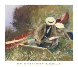 Out of Doors Study Prints by John Singer Sargent