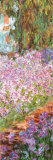 The Artist's Garden at Giverny, c.1900 (detail) Plakater af Claude Monet