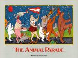 Desfile de animales Láminas por Nancy Carlson
