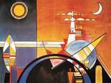 La puerta grande de Kiev Láminas por Wassily Kandinsky