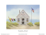 Sandy Toes Prints by Karyn Frances Gray