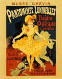 Pantomines Lumin Láminas por Jules Chéret