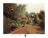 Hollyhouse Path Prints by Diann Haist