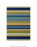 Marine Stripes Prints by Denise Duplock