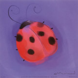 Ladybugs Print by Anthony Morrow