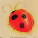 Ladybug Art by Anthony Morrow