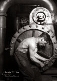 Mécanicien de centrale électrique Posters par Lewis Wickes Hine