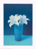 Vase With Flowers (Lilies) Prints
