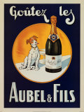 Goutezles Aubel and Fils - Poster