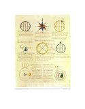 Navigation / Compass, Art Print