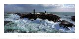Leuchtturm von Slyne Head, Galway, Irland Poster von Jean Guichard