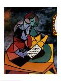 Der Unterricht|The Lesson Kunstdrucke von Pablo Picasso
